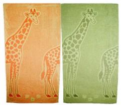 Tovalloles girafa 80x140